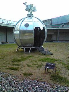 不思議な宇宙船