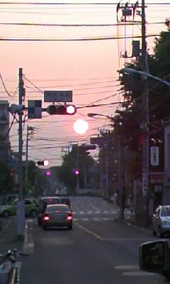 大きな赤信号