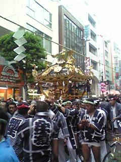 三鷹の秋祭り
