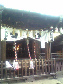 北野神社のお祭り