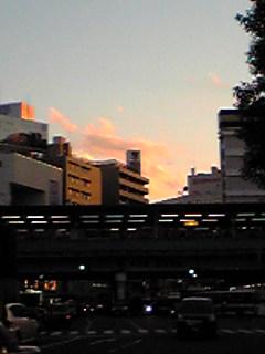 吉祥寺の夕焼け