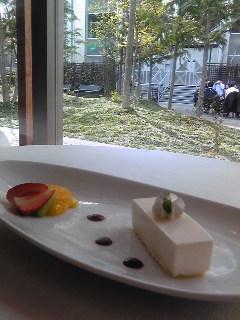 カフェレストランのケーキ