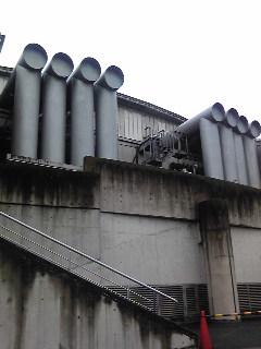 さらに東京体育館の裏