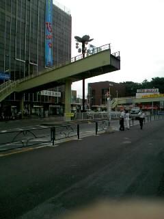 怖ーい歩道橋