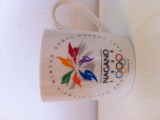 長野オリンピックのマグカップ