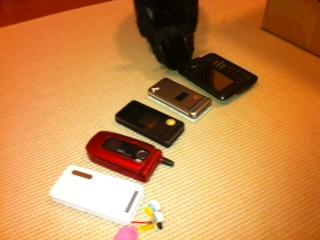 我が家の携帯!