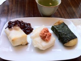 焼き餅三種セット