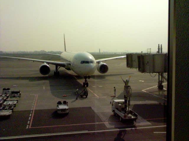 現在の羽田空港の様子