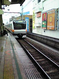 新型の中央線車両